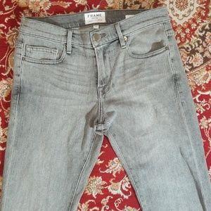 Frame denim grey jeans